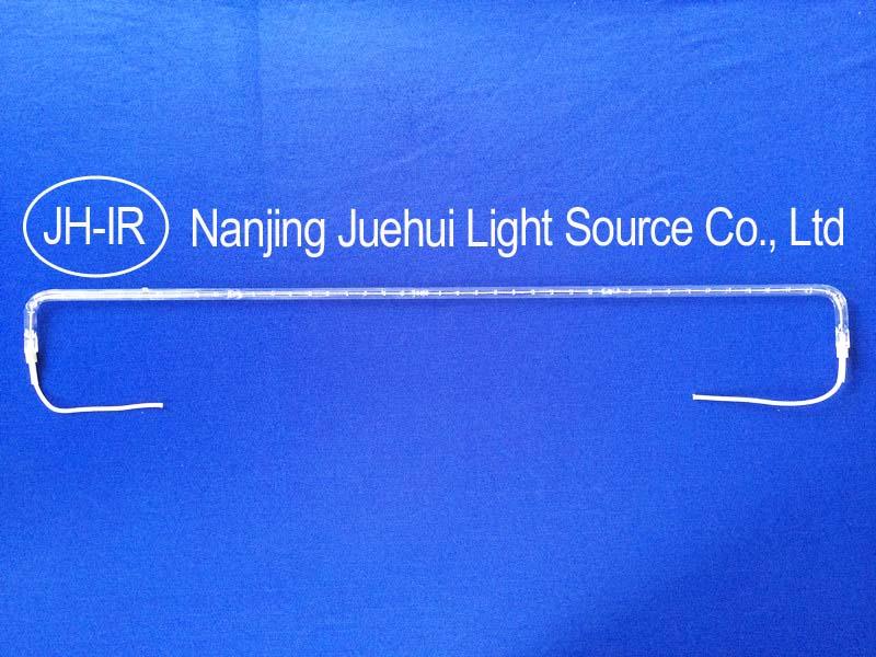 U shape/Bent Infrared lamp replace Heraeus