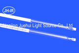 Single tube infrared lamp